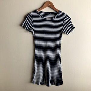 Brandy Melville striped bodycon dress